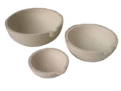 Platinum Crucible Round 60mm bowls