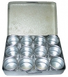 Aluminium Tin Set 12 Piece - A0081