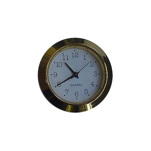 Round 40mm Gold Arabic
