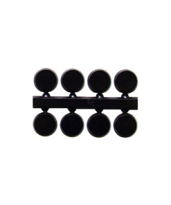 Black Dots 5mm 6mm 10mm 12mm - QAND B + mm