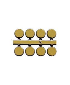 Gold Dots 5mm 6mm 10mm 12mm - QAND G + mm