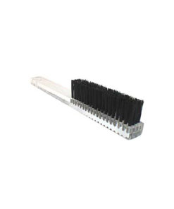 Hand Brush Perspex Handle Nylon Hard - B0065