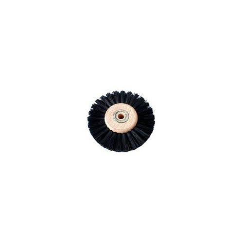 Lathe Brush Black Bristle 80mm - B0087-B0125