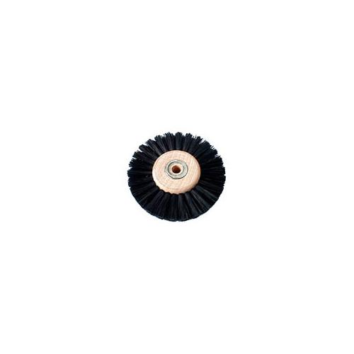 Lathe Brush Black Bristle 80mm – B0124