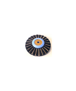 Lathe Brush Converging Plastic Center 80mm - B0174