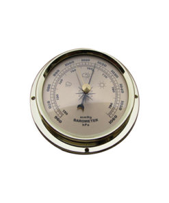 Surface Mount Barometer Champagne 109mm - B109G
