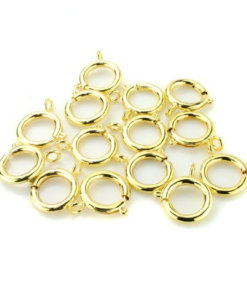 9 Carat Yellow Gold Bolt Ring