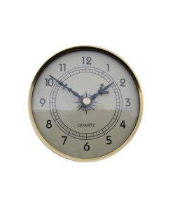 Fitup Clock Ivory 108mm - CL108IV