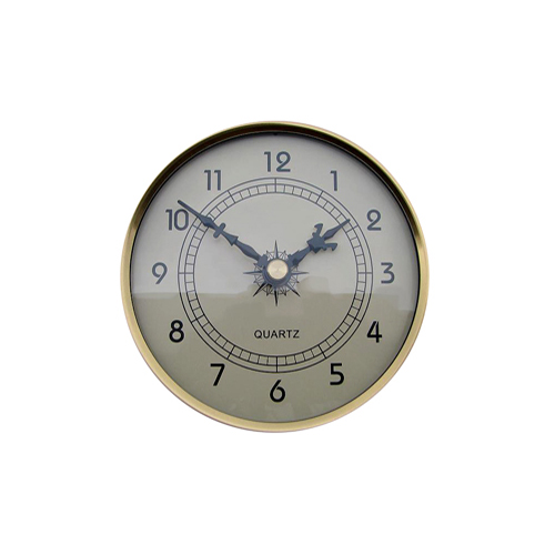 Fitup Clock Ivory 108mm - CL108IV