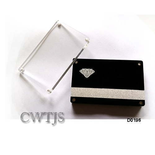 Stone Displays with Magnetic Clips Various - D0195 D0196 D0198
