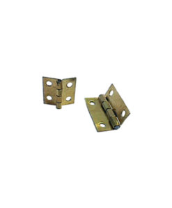 Hinges Brass 12 or 19mm