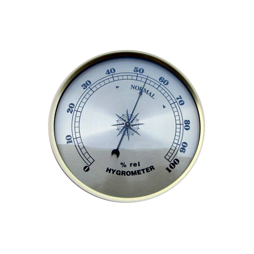 Hygrometer Fit-up Champagne 108mm - HY108CH