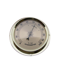 Surface Mount Hygrometer Champagne
