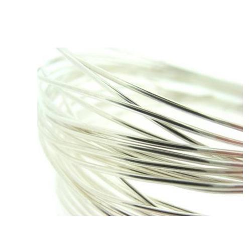 Sterling Silver Round Wire - SWF 0.50 - 3.0mm