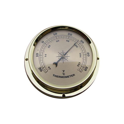 Surface Mount Thermometer Champagne 109mm – T109G