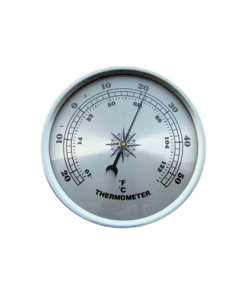 Fitup Silver Thermometer Silver 90mm - T90S