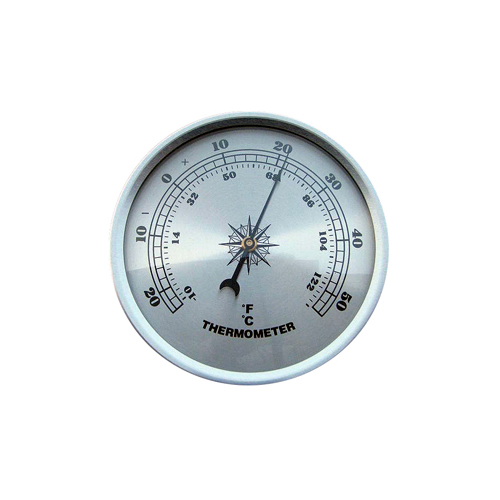 Fitup Silver Thermometer Silver