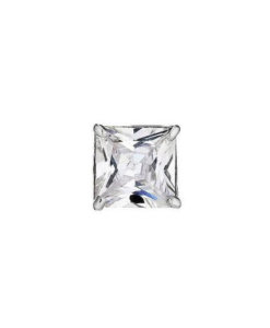Square Princess - White - CZ