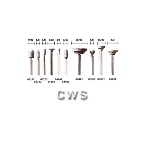 Dremel Sic Carbide Stones Dia 4.8mm - DRE83702, DRE85602, DRE84642
