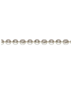 C0101-H J Sterling Silver Bead Chain - C0101-H J