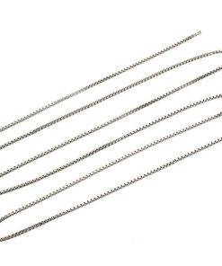 C0101-K Sterling Box Link Chain - C0101-K1