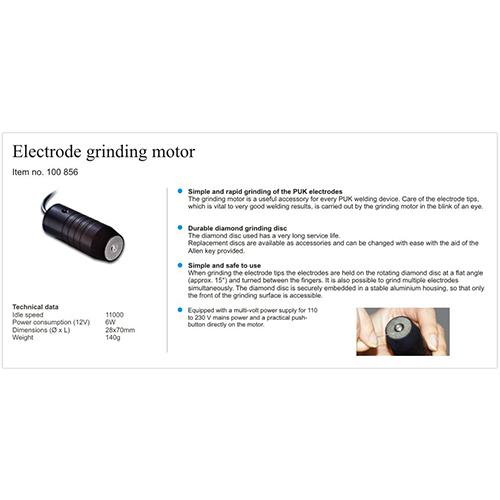PUK Electrode Sharpener - LMW-ES & LMW-DIA.DISC