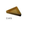 Material Trays Triangle Plastic - T0003