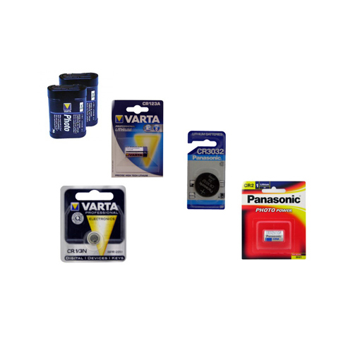 Camera Batteries – Assorted Sizes