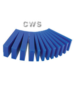 Wax Blue Slices Assorted - W0029B