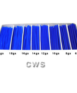 Blue Wax Wire 91mm