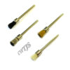 7mm Pencil Brush White Black Steel Brass - B0051 B0052 B0053 B0093