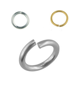 Jump rings for jewellery clasps earrings chains pendants