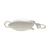 Plain Oval Pearl Clasp - UOSTGPCB2