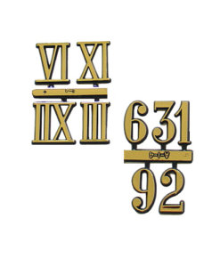 Clock Numbers and Numerals