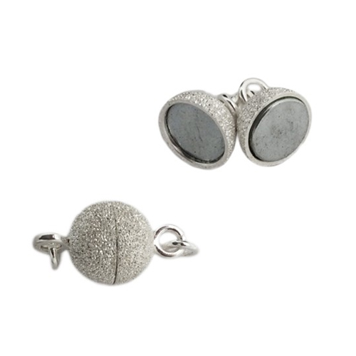 Clasp Magnetic Stardust Sterling Silver - YLSTGMP011