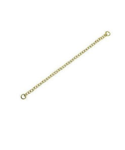 9 Carat Yellow Gold - Safety Chain & Ends