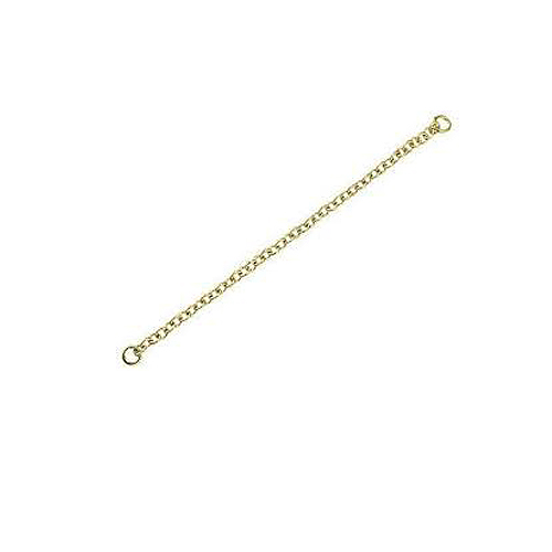 9 Carat Yellow Gold – Safety Chain & Ends