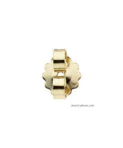18 Carat Yellow Gold - American Push-On
