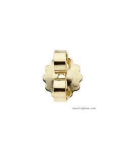 18 Carat Yellow Gold - American Push-On