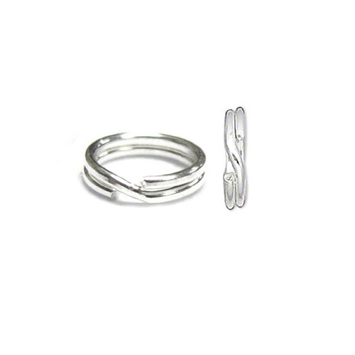 Jump Ring Round Split Sterling Silver - WJDR