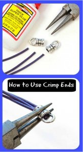 How to use crimp ends