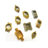 Watch Cases Nickel Plated per Ten - CLW089