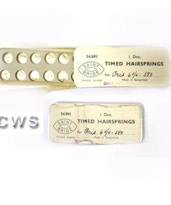 Miniature Hairsprings per box - CLW102