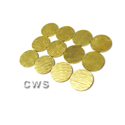 Solid Brass Hour Markers Dia 18mm