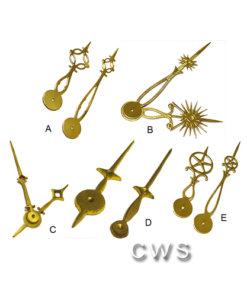 Solid Brass Hands - CLW135 A-E