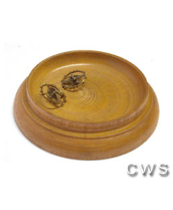 Material Trays Wood Round - CLW139