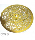 Fancy Brass 140mm Decoration