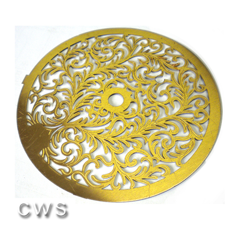 Fancy Brass 140mm Decoration - CLW143