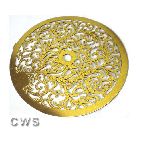 Fancy Brass 140mm Decoration