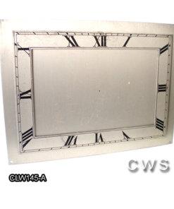 Wesclox Dials 170x125mm - CLW145-A